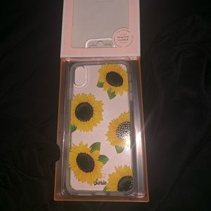 NWT Sonix Sunflower Fields iPhone XS Max